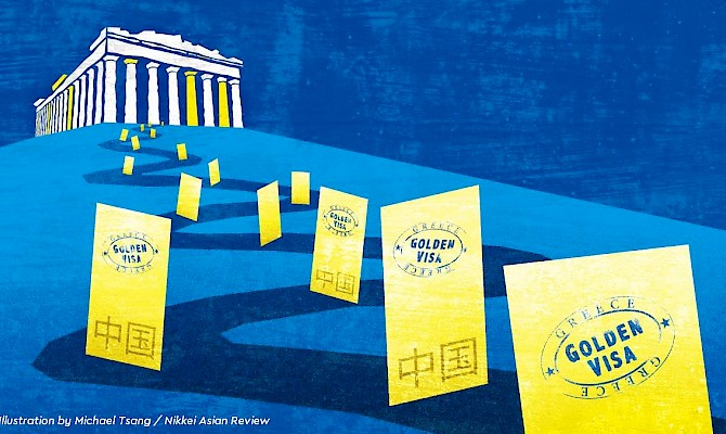 Chinese prefer Golden Visa in Greece